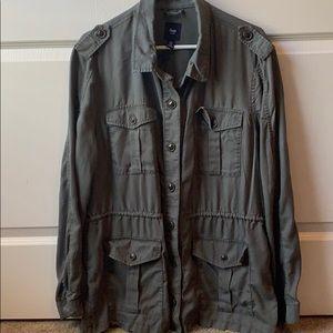 Gap overcoat- olive